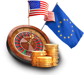 Amerikaans Europees Roulette