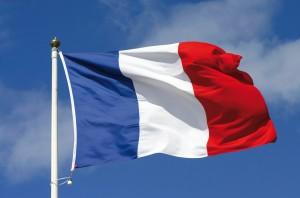 Frankrijk vlag; casino