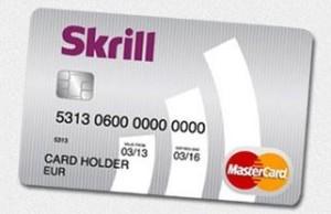 Moneybookers card