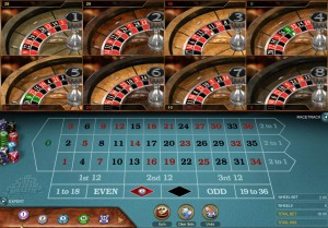 Casino-Multi Wheel Roulette